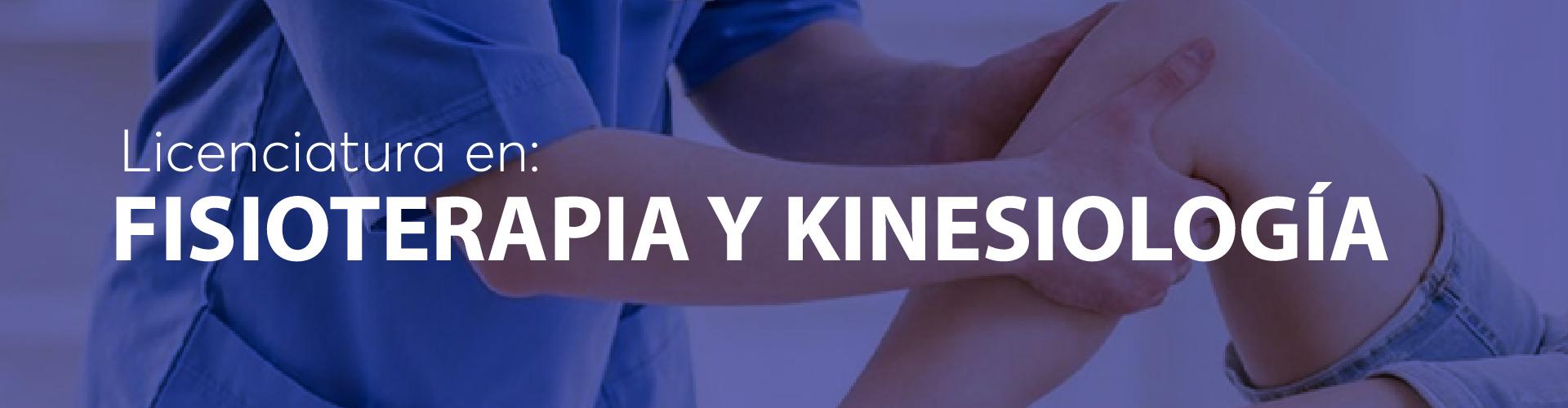 Fisioterapia y kinesiologia
